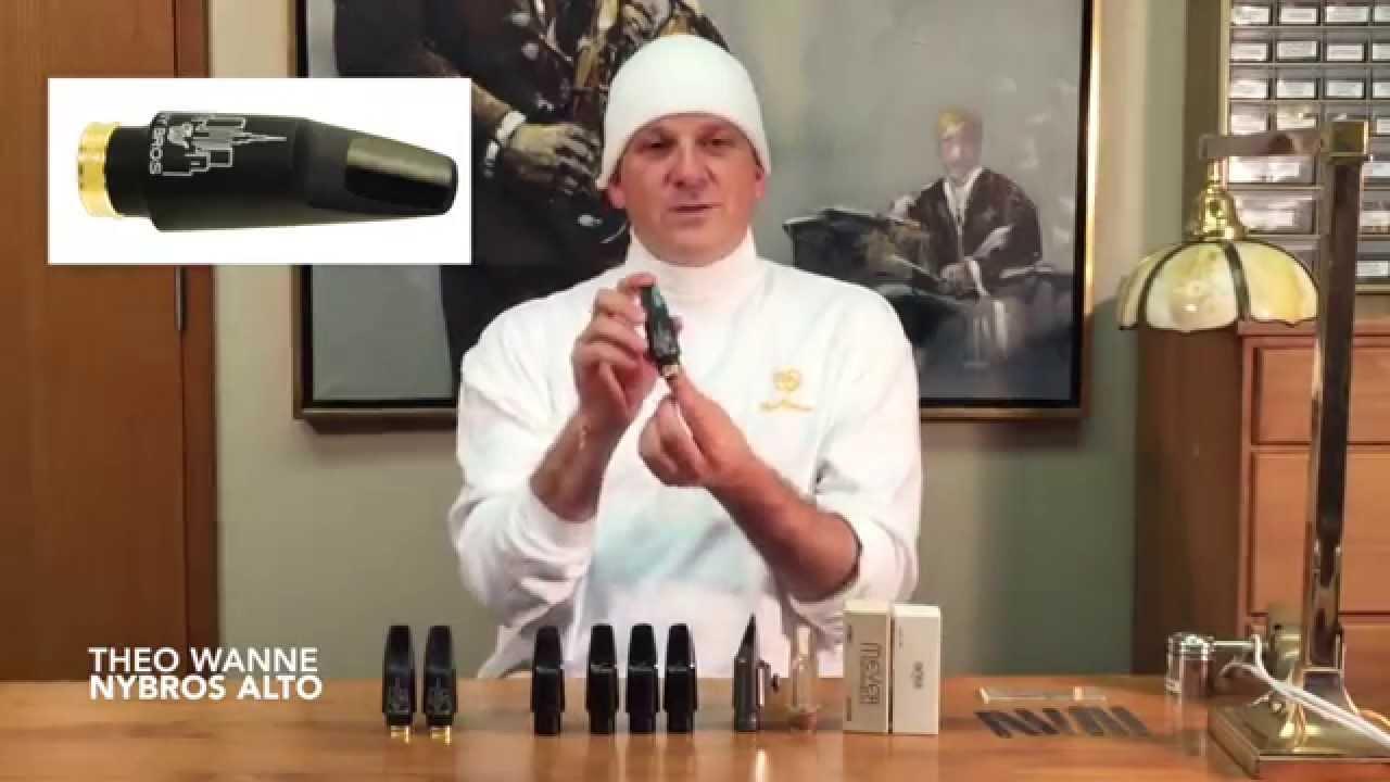 NYBROS Alto Mouthpiece by Theo Wanne - YouTube