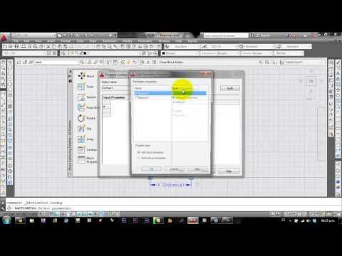 autocad tutorial bloques dinamicos