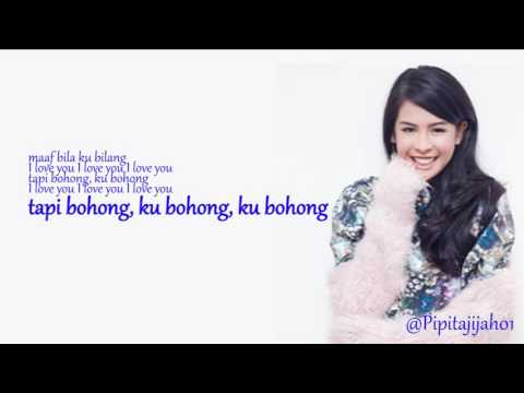 Maudy Ayunda   I Love You Tapi Bohong