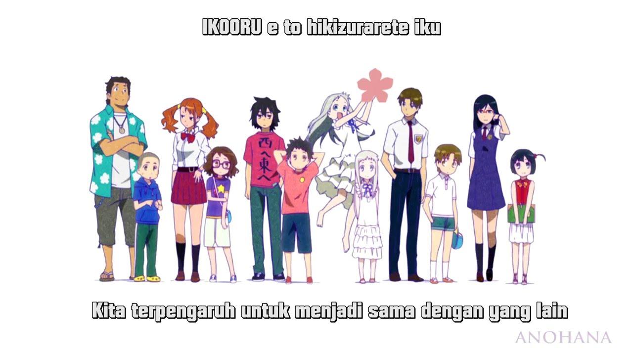 Download anime anohana movie sub indo mp4 opening anohana galileo galilei aoi shiori subtitle indonesia