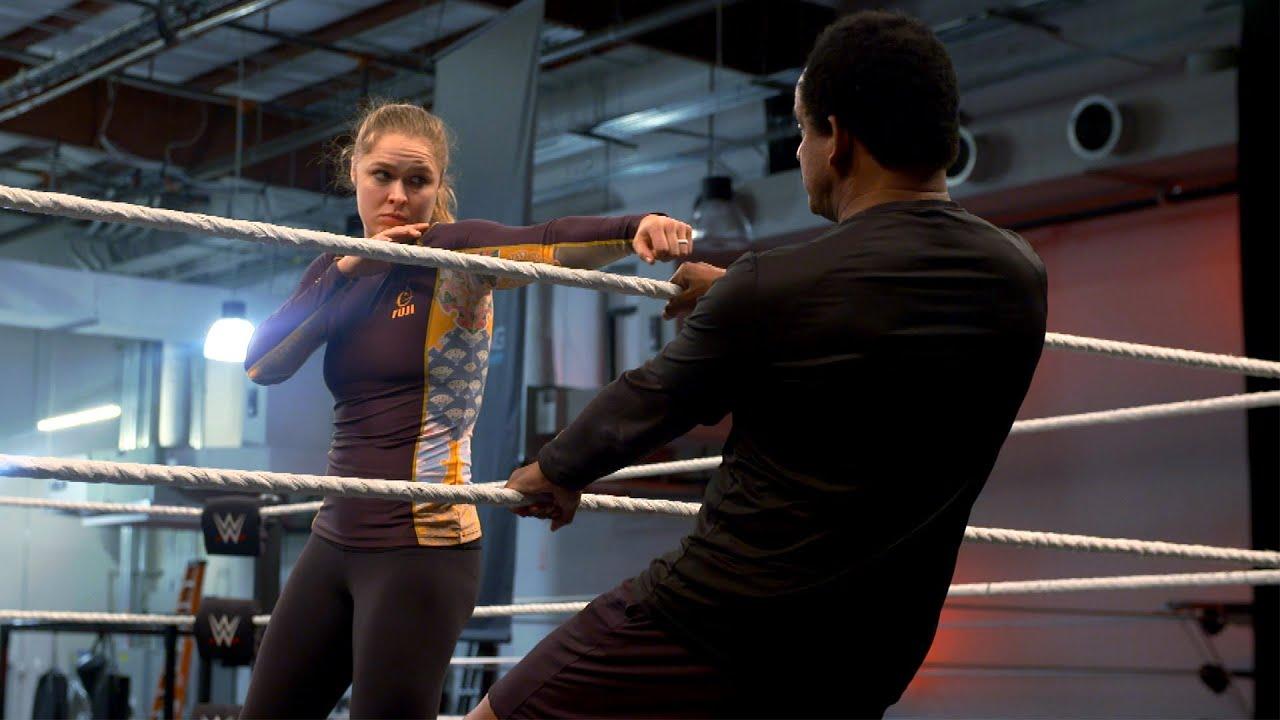 Ronda Rousey's hardcore SummerSlam training