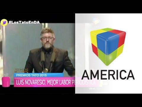 Luis Novaresio se quedó con el Tato en Mejor Labor Periodística