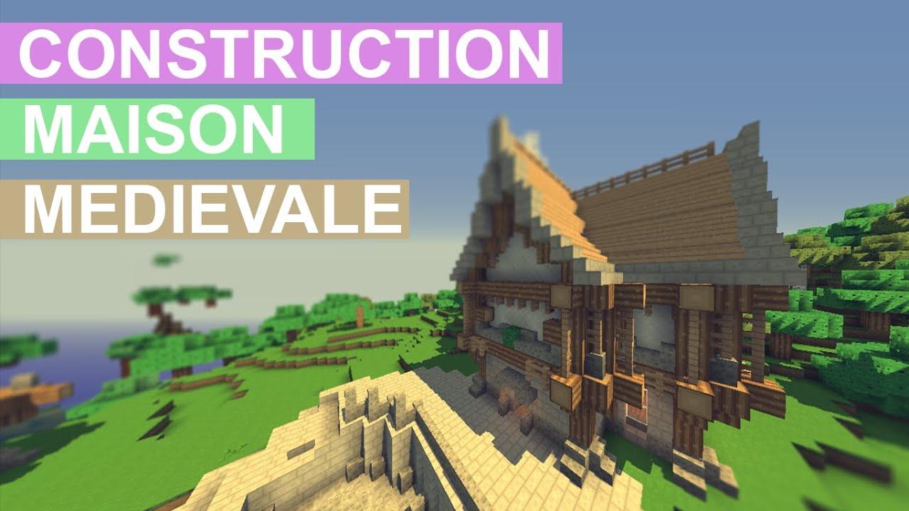 minecraft tuto comment construire une maison m di vale. Black Bedroom Furniture Sets. Home Design Ideas