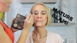 Makeup on Mature Skin | Glam in your 60
