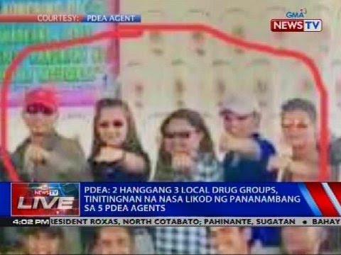 PDEA: 2 hanggang 3 local drug groups, tinitingnan na nasa likod ng pananambang sa 5 PDEA agents