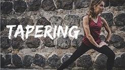 TAPERING - Die unmittelbare Wettkampfvorbereitung