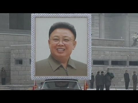Snowy state funeral for North Koreas Kim Jong-il