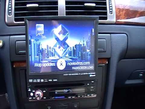 autoradio gps tnt bluethoot ipod
