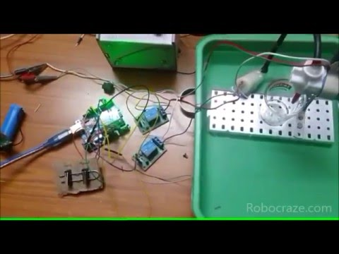 hqdefault how to make a water dispenser! youtube automatic tubig machine wiring diagram at crackthecode.co
