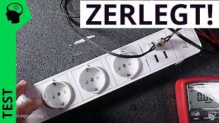 Top oder Flop? Steckdosenleiste mit USB Ladefunktion.