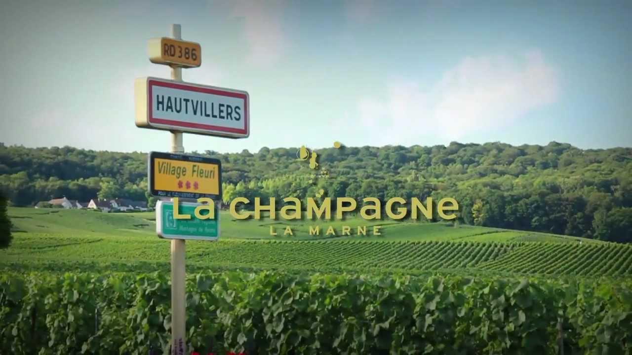 Hautvillers la marne la champagne youtube for Champagne marne