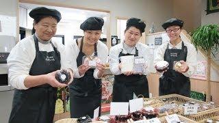 Tsunami-recovering farmers' restaurant in Japan