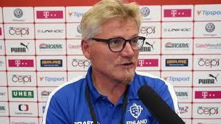 Petteri Nykky po utkání Finsko - Švýcarsko