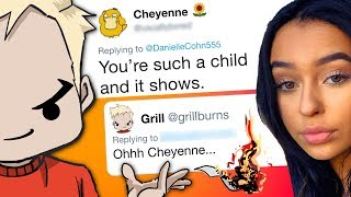 Danielle Cohn's Haters Get Grilled (Grill Reads Mean Tweets)
