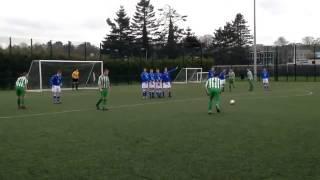Wonderful Free Kick! Seamus Kane
