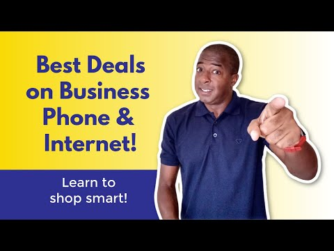 How To Get The BEST Deals On Business Phone Service And Internet Service!