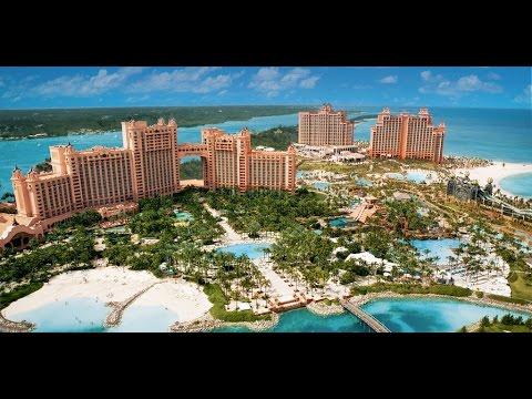 Discover Atlantis Resort tour -  Paradise Island Nassau - Bahamas