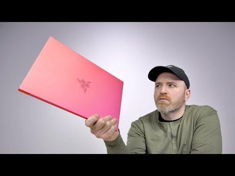 Razer Actually Made A Pink Laptop...