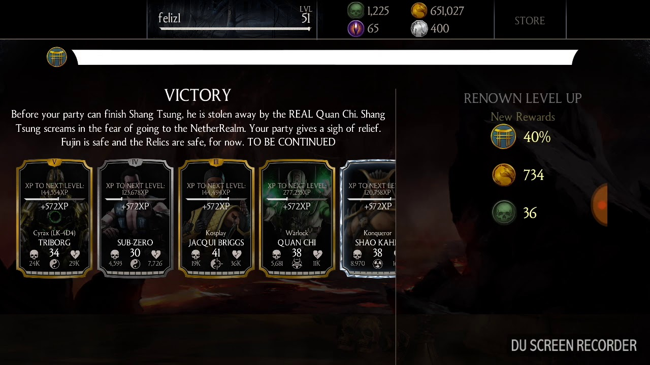 Mortal kombat x Quest mode last tower