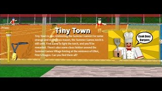 Roblox Tiny Town Hinweis Lage (Sommerspiele)