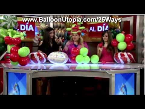 How to Make a Christmas Centerpiece- Al Dia