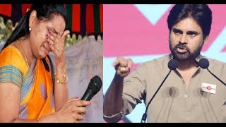 Telangana kavitha vs Pavan Kalyan on Mar 14, 2014 in janasena party speech