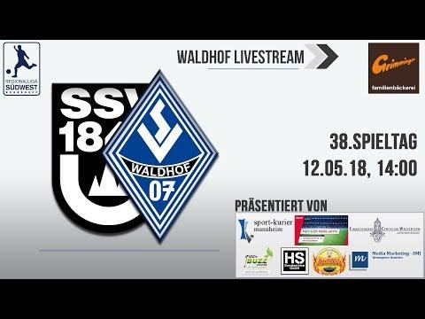 38.Spieltag: SSV Ulm - SV Waldhof