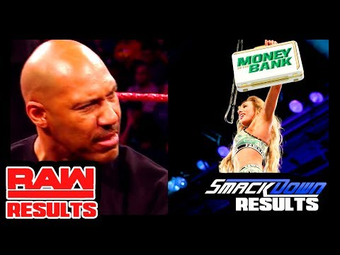 MOST BIZARRE SEGMENT EVER? MITB REMATCH! WWE Raw & Smackdown Review & Results (Going In Raw Ep. 248)