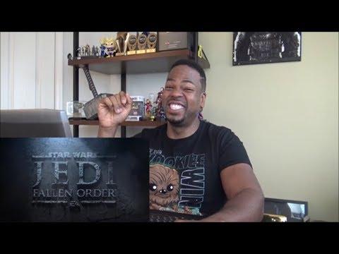 Star Wars Jedi: Fallen Order Official Trailer – Xbox E3 Briefing 2019 – REACTION!!!