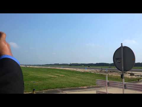 F-16 Takeoff at Volkel Airbase, Netherlands
