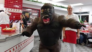 Monkeying Around At In And Out (full video)