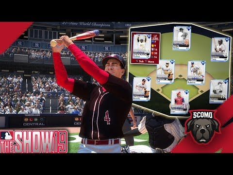 Best Team In MLB! All 99 Overall Signature Lineup! MLB The Show 19 Gameplay