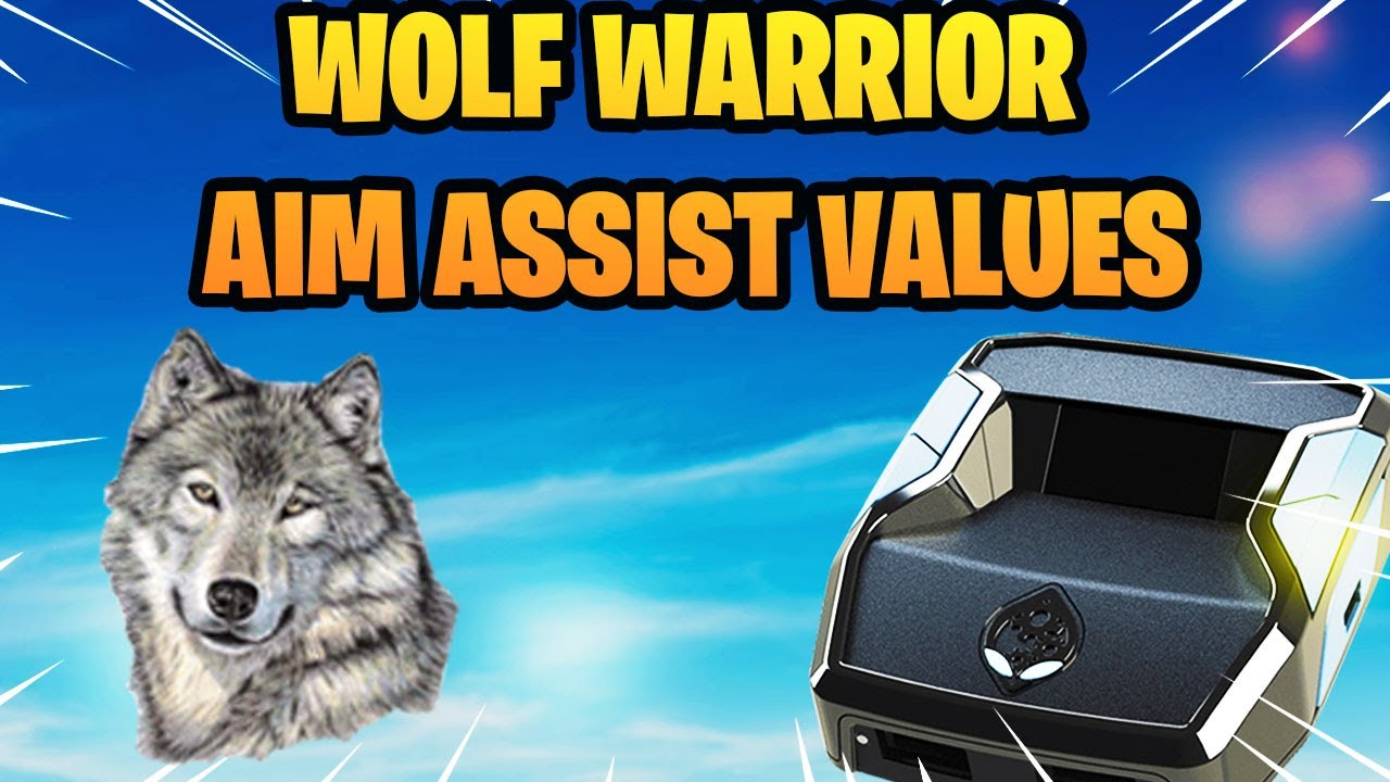 Download NEW** WOLF WARRIOR V2 AIM ASSIST VALUES FOR STICKY AIM WITH 0 SCREEN SHAKE! CRONUS ZEN WARZONE!