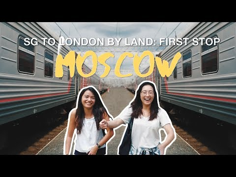 The Trans-Siberian Journey Begins: Moscow | TSL Goes London Over Land | Ep 1