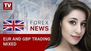 InstaForex tv news: Recap of European trades: EUR/USD, GBP/USD