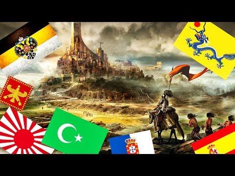 10 крупнейших империй