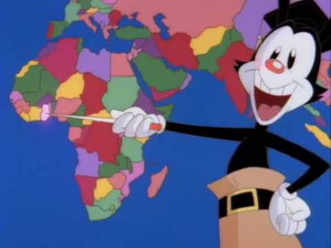 Yakko'sNations of the World - Animaniacs HQ