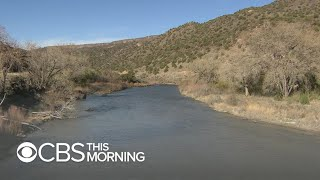 Climate change threatening to dry up the Rio Grande River, a vital water supply