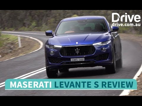 2018 Maserati Levante S Review   Drive.com.au - Dauer: 2 Minuten, 50 Sekunden