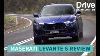 2018 Maserati Levante S Review | Drive.com.au