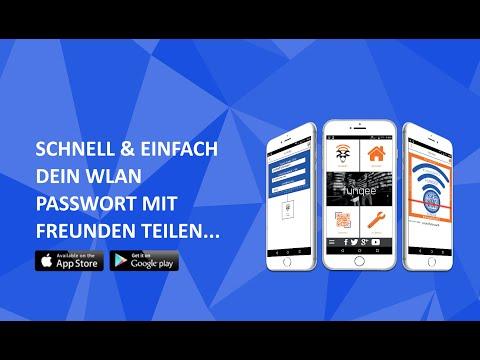 Funqee | Free WLAN WiFi Passwort Scanner. Schnell & Einfach Dein WLAN Passwort Mit Freunden Teilen