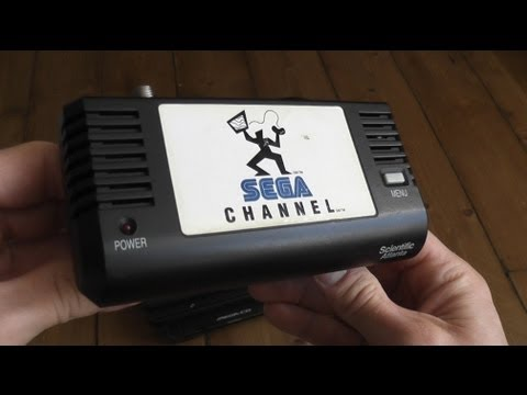 SEGA Channel Adapter - 90's Hardware Review - Mega Drive/Genesis Games On Demand Service