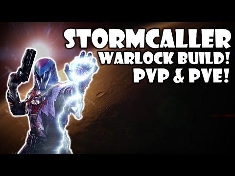 Destiny warlock stormcaller class setup build pvp pve youtube - Warlock stormcaller ...