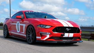 2019 Hennessey Heritage Edition Mustang In Action