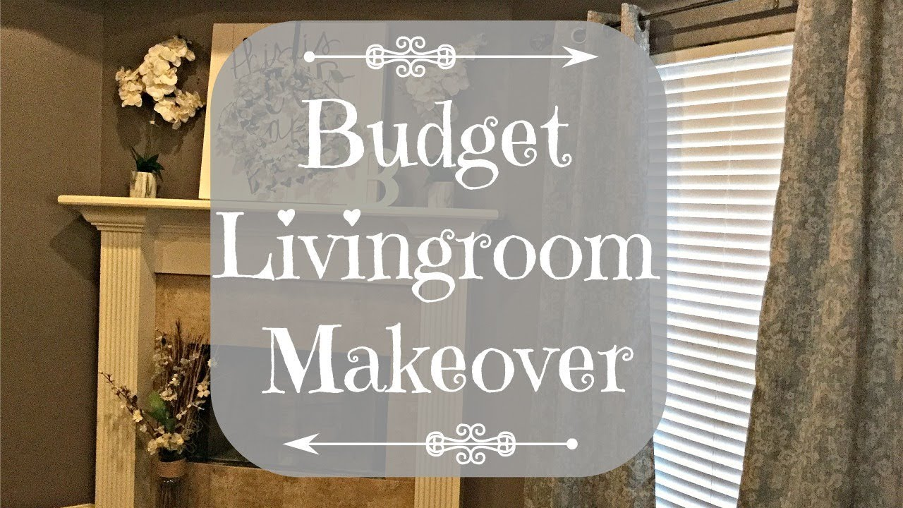 Budget Living Room Makeover | 2018 - YouTube