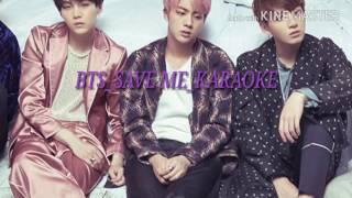 [BTS] SAVE ME -KARAOKE [ROM_FACIL]
