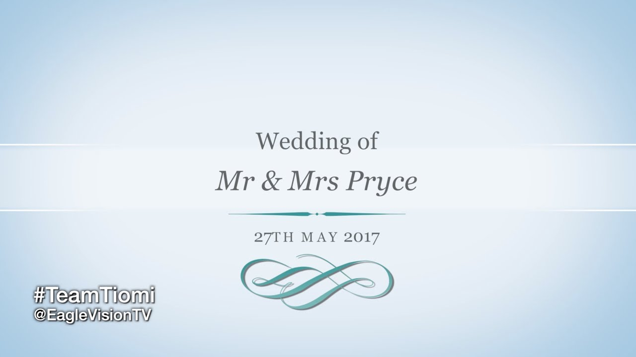 MR & MRS PRYCE