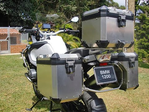 2014 bmw r 1200 gs adventure aluminum luggage system and. Black Bedroom Furniture Sets. Home Design Ideas