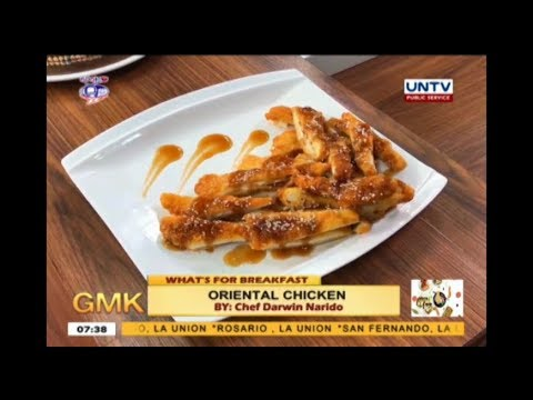 Oriental Chicken Recipe   What's For Breakfast
