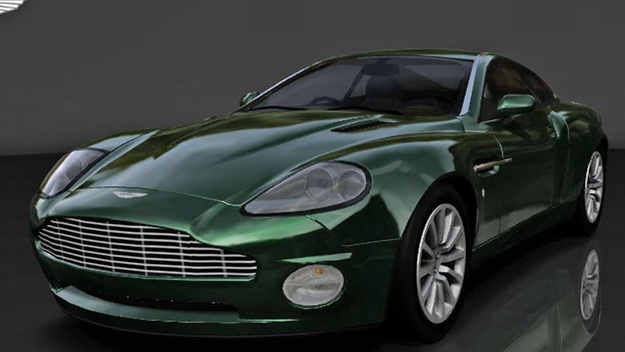 Forza Motorsport Aston Martin V Vanquish Test Drive - 2001 aston martin vanquish